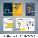 cover book design set  human...   Shutterstock .eps vector #1180797979