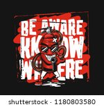 t shirt design fire... | Shutterstock .eps vector #1180803580