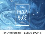 abstract marble background.... | Shutterstock .eps vector #1180819246