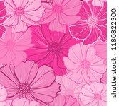 elegant seamless pattern with... | Shutterstock .eps vector #1180822300