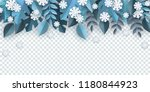 vector illustration of winter... | Shutterstock .eps vector #1180844923