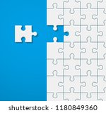 background a lot of piece... | Shutterstock .eps vector #1180849360