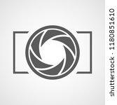 focus icon. vector illustration.... | Shutterstock .eps vector #1180851610