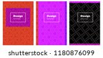 light pink  red vector cover...   Shutterstock .eps vector #1180876099
