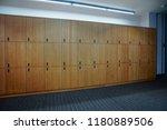 interior of a locker changing... | Shutterstock . vector #1180889506