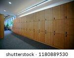 interior of a locker changing... | Shutterstock . vector #1180889530