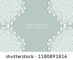 invitation or card template... | Shutterstock .eps vector #1180891816