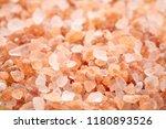 background of himalayan salt  ... | Shutterstock . vector #1180893526