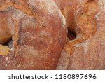 french bread in the market | Shutterstock . vector #1180897696