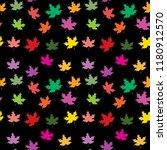 seamless pattern of autumn... | Shutterstock .eps vector #1180912570