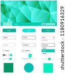 light green vector design ui... | Shutterstock .eps vector #1180916329