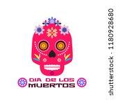 dia de los muertos  day of the... | Shutterstock .eps vector #1180928680