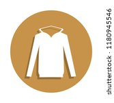 hooded sweater icon in badge...
