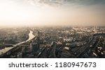 panoramic aerial view of big... | Shutterstock . vector #1180947673