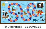 pirate board game   Shutterstock .eps vector #118095193