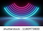 3d render  abstract background  ... | Shutterstock . vector #1180973800