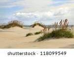 Sand Dunes On The Outer Banks...