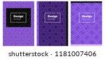 light pink  blue vector pattern ...   Shutterstock .eps vector #1181007406