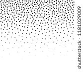 halftone dotted background.... | Shutterstock .eps vector #1181029009