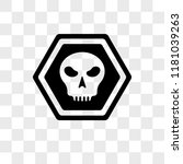 death vector icon isolated on... | Shutterstock .eps vector #1181039263