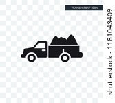 truck with load vector icon... | Shutterstock .eps vector #1181043409