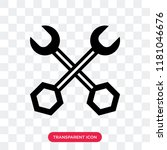 wrench vector icon isolated on... | Shutterstock .eps vector #1181046676