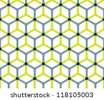 Abstract Cube Pattern In...