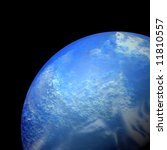 the world seen from space | Shutterstock . vector #11810557