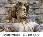 ancient marble statue of a...   Shutterstock . vector #1181056879