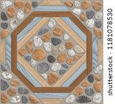 floor and wall tiles design ... | Shutterstock . vector #1181078530