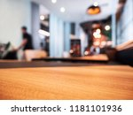 table top counter cafe... | Shutterstock . vector #1181101936
