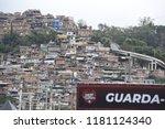 rio de janeiro   brazil...   Shutterstock . vector #1181124340
