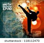 karate | Shutterstock .eps vector #118112470