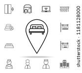 pinch icon. hotel icons...   Shutterstock .eps vector #1181128000