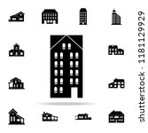 skyscraper  icon. house icons... | Shutterstock .eps vector #1181129929