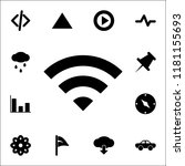 radio sign icon. web icons... | Shutterstock .eps vector #1181155693