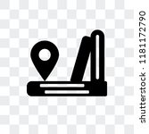 location vector icon isolated...