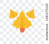 mistletoe vector icon isolated...   Shutterstock .eps vector #1181175133