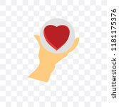 care vector icon isolated on... | Shutterstock .eps vector #1181175376