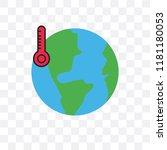 global warming vector icon...   Shutterstock .eps vector #1181180053