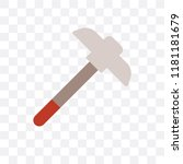 pick vector icon isolated on... | Shutterstock .eps vector #1181181679