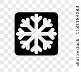 frost vector icon isolated on...   Shutterstock .eps vector #1181184283