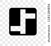 intersection vector icon... | Shutterstock .eps vector #1181184856