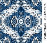 indian rug tribal ornament... | Shutterstock .eps vector #1181214976