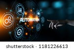 automation software technology... | Shutterstock . vector #1181226613