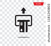 insert credit card icon...   Shutterstock .eps vector #1181243803