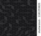 seamless pattern of isometric... | Shutterstock . vector #1181253820