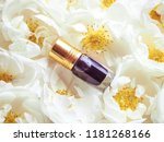 concentrated perfume in a mini... | Shutterstock . vector #1181268166