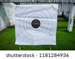 target shooting in lawn.bullet...   Shutterstock . vector #1181284936