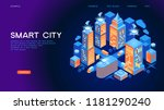smart city or intelligent... | Shutterstock .eps vector #1181290240